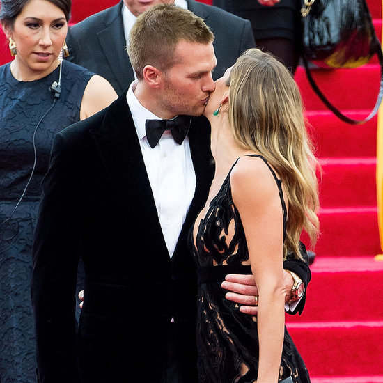 Gisele Bundchen and Tom Brady at the Met Gala 2014