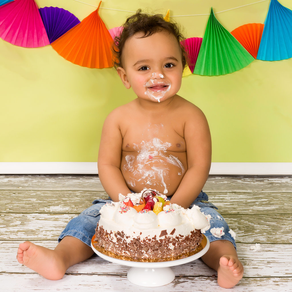 10 Times Babies Went Bonkers For Cake