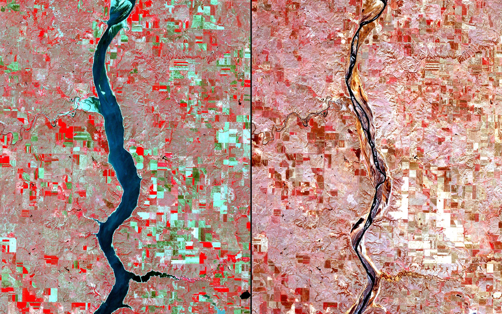 Drought, North/South Dakota