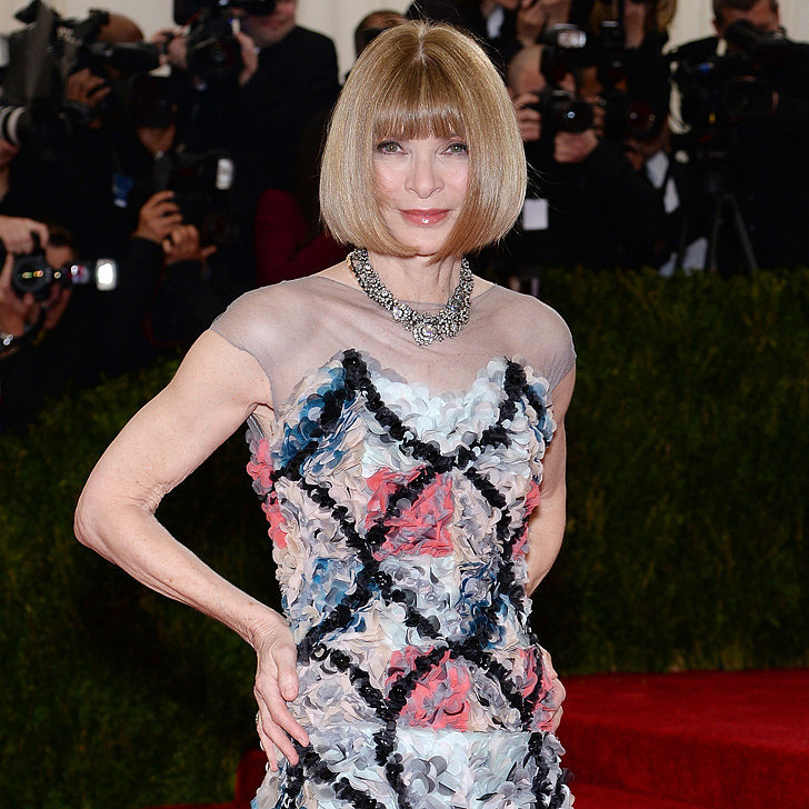 Anna Wintour's Late Night With Seth Meyers Appearance