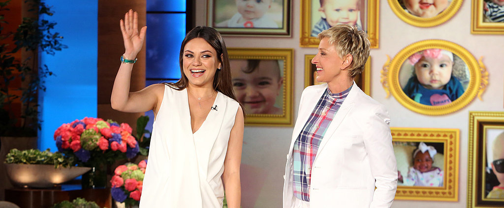 """Here's Why Mila Kunis Wants a """"Natural Birth"""""""