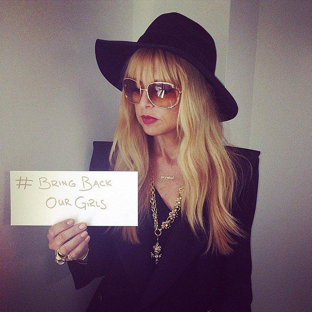 Rachel Zoe spread the message to her followers.   Source: Instagram user rachelzoe