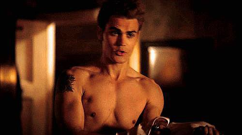 And this is him shirtless. You're welcome.