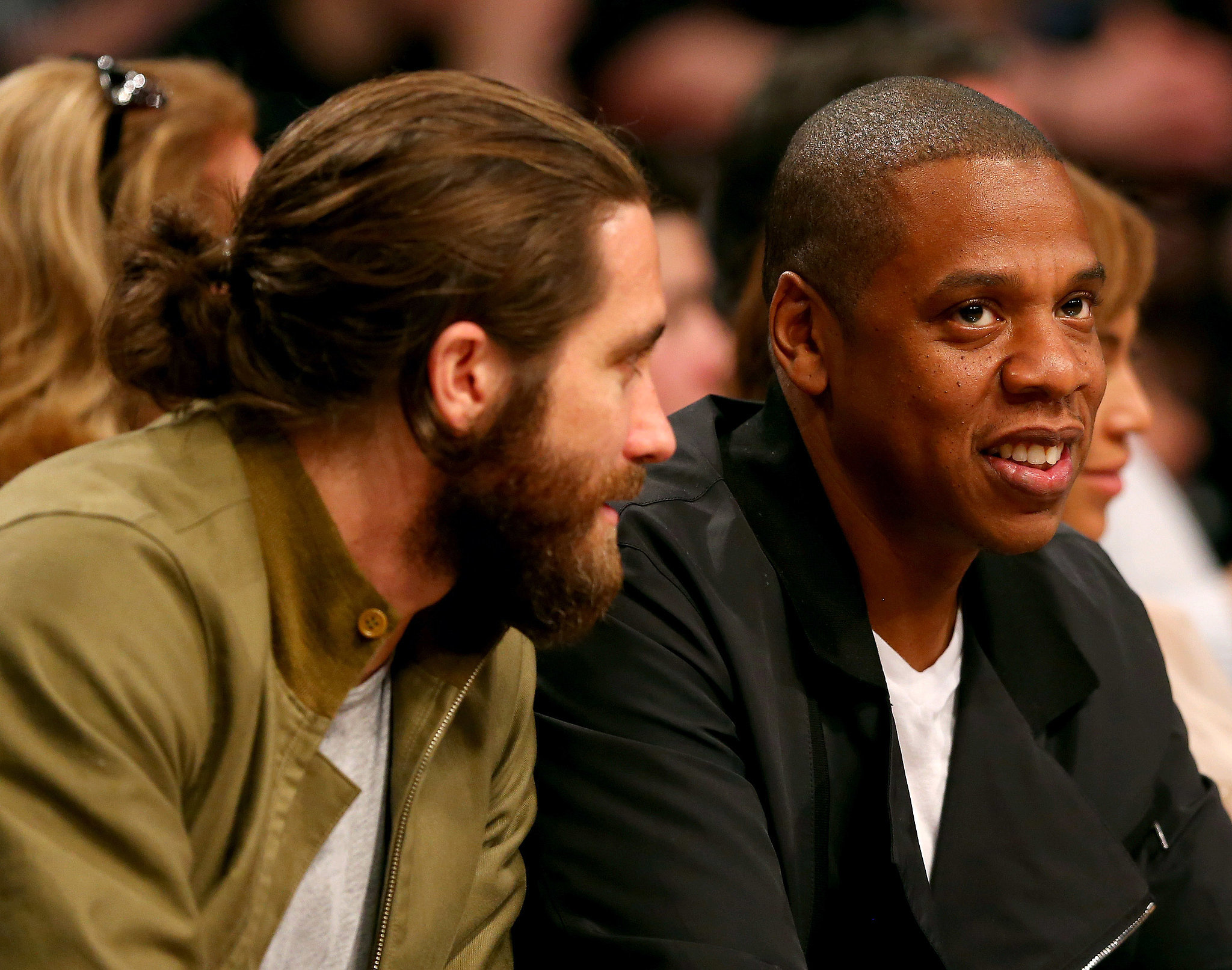 What Are Beyoncé, Jay Z, and Jake Gyllenhaal Talking About?