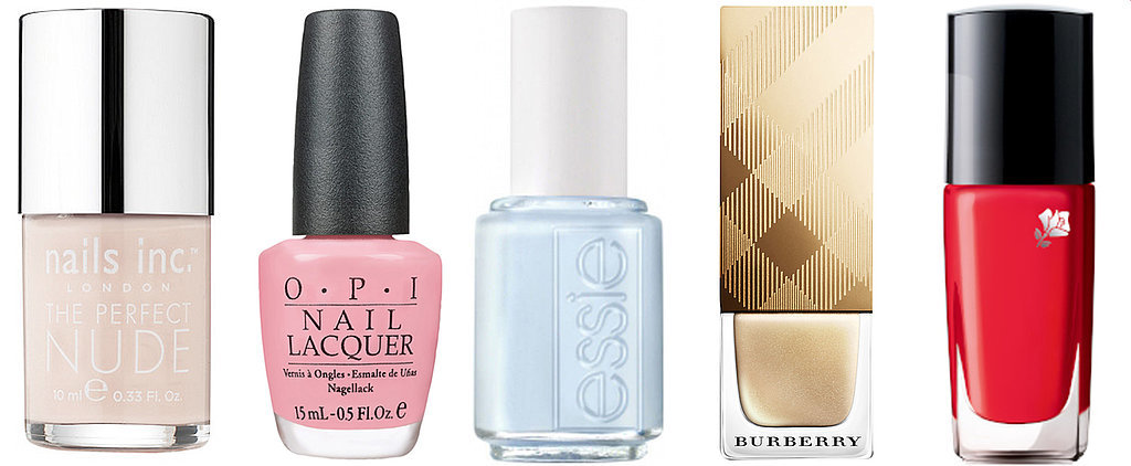 The Very Best Nail Colours For Brides