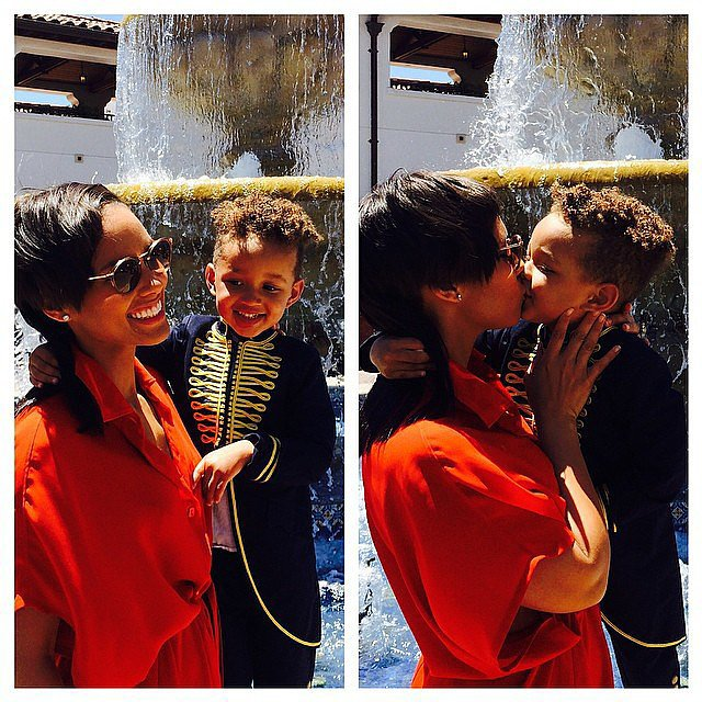 "Alicia Keys expressed how ""honored"" she is to be little Egypt's mom. Source: Instagram user aliciakeys"
