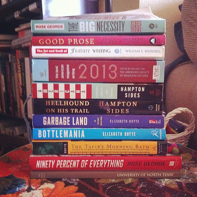 Fragglerocker snapped this bookish pic.
