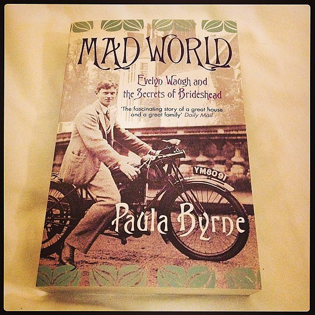 "Slryan09 shared a photo of Paula Byrne's Mad World, adding, ""Needed a new book for the flight home . . . might finish it before I get to the airport."""