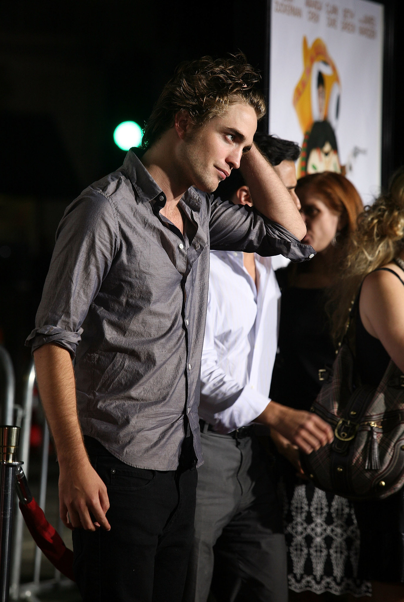 He stepped out to the Hollywood premiere of Summit Entertainment's Sex Drive in October 2008.