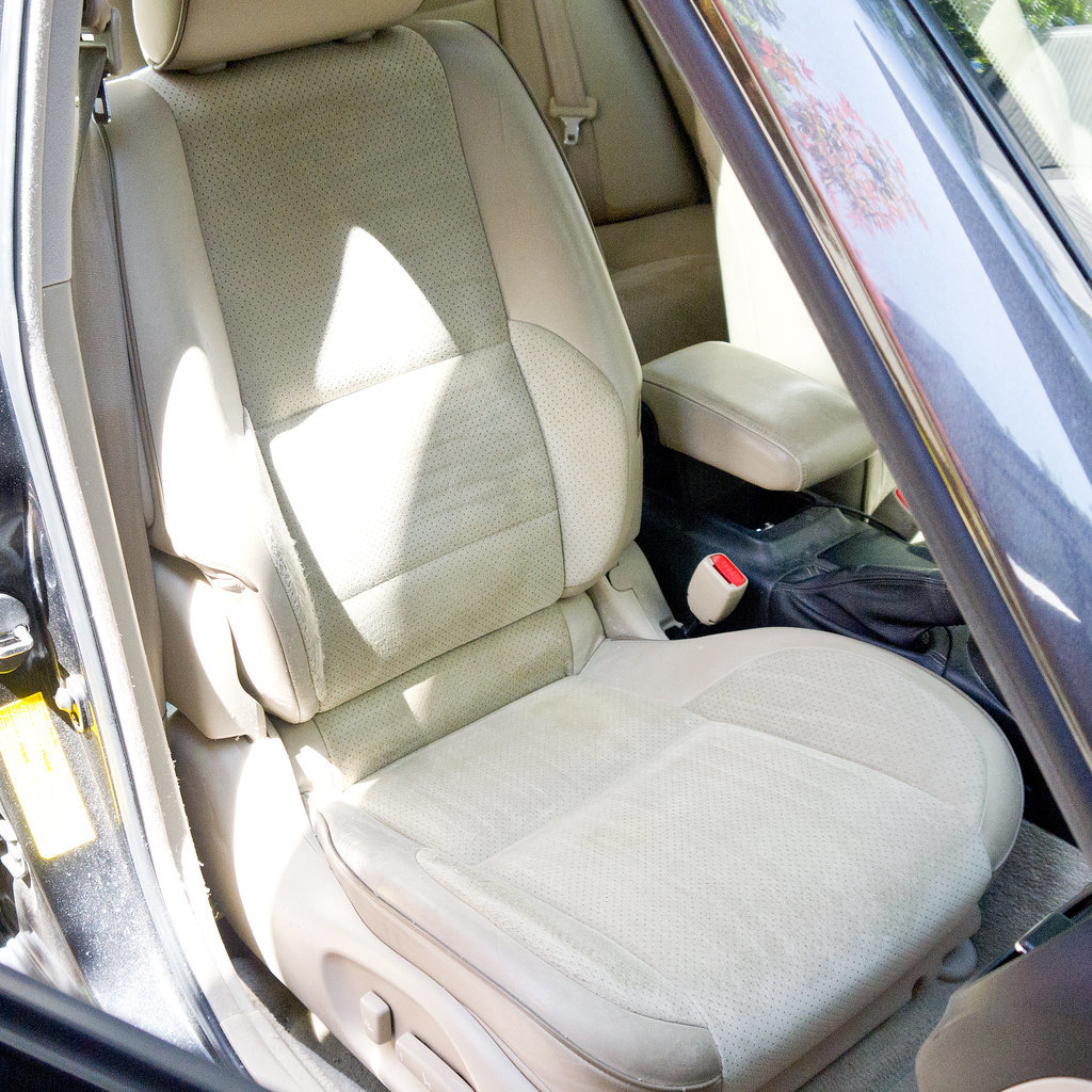 how to clean car seats popsugar smart living. Black Bedroom Furniture Sets. Home Design Ideas