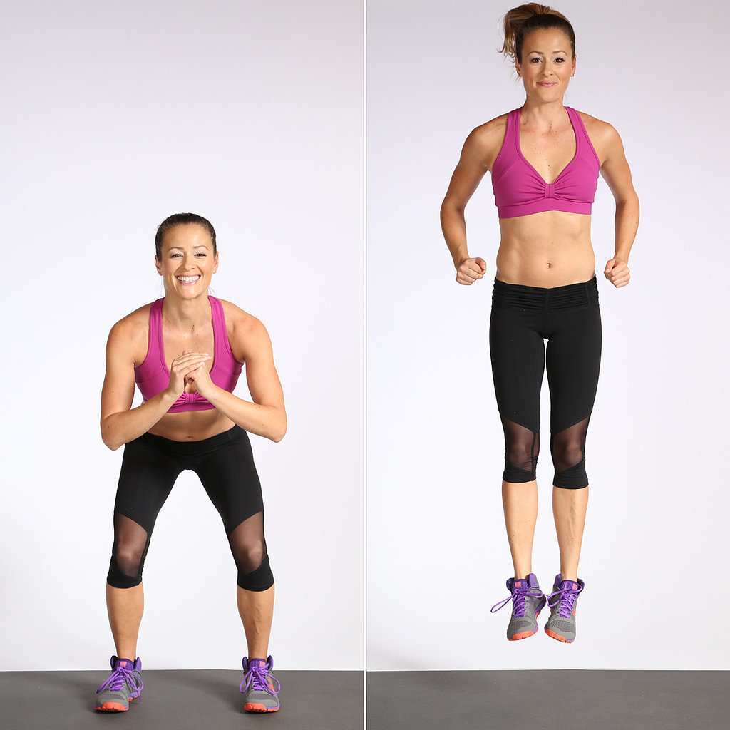 Circuit One: Jump Squat With Heel Click
