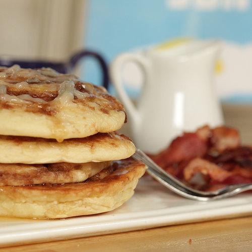 Ooey-Gooey Pancake S'mores Recipes — Dishmaps