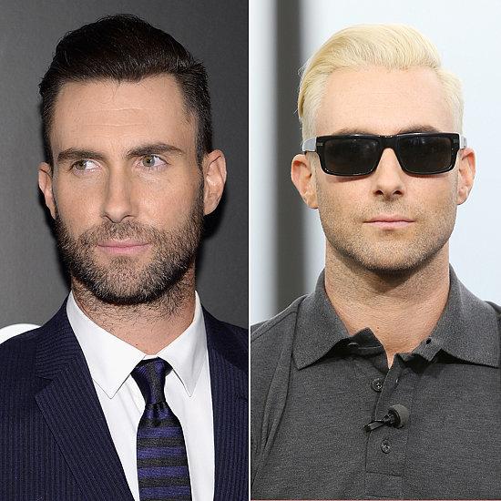 Does Adam look better as a brunet or blond?