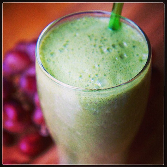 So I Make Spinach Smoothies For Breakfast