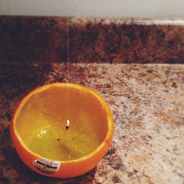Orange Peel Candle