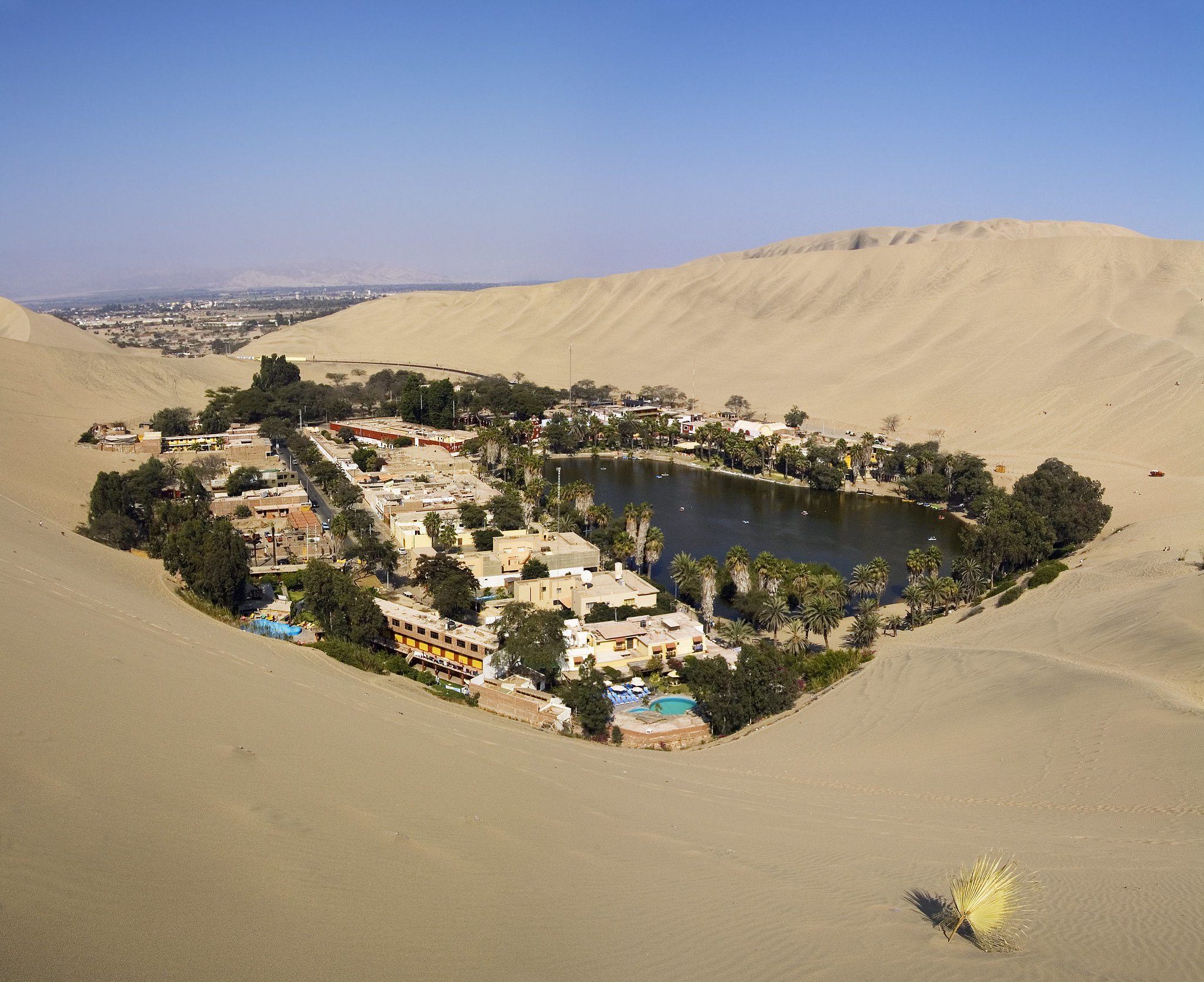 Huacachina Oasis, Peru | 83 Unreal Places You Thought Only ...
