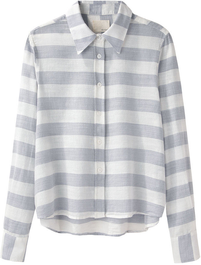 Band of Outsiders Striped Button-Down