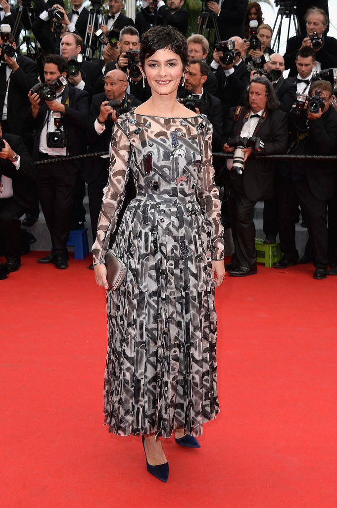 Audrey Tautou at the Grace of Monaco Premiere