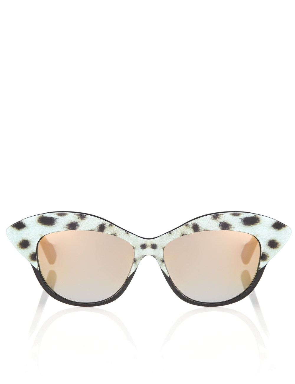 Sunglasses With Ocelot Print