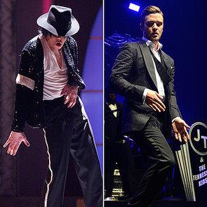 Michael Jackson and Justin Timberlake Dancing