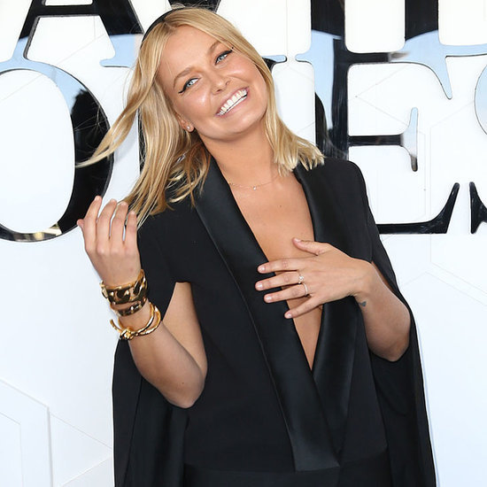 Photos of Lara Bingle Wearing Black Dresses and Outfits