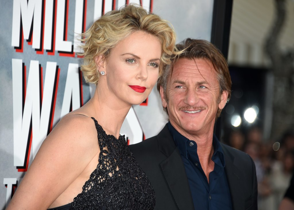 Charlize Theron and Sean Penn returned to the red carpet on Thursday, making a sweet couple's arrival at the premiere of her new movie, A Million Ways to Die in the West, in LA.