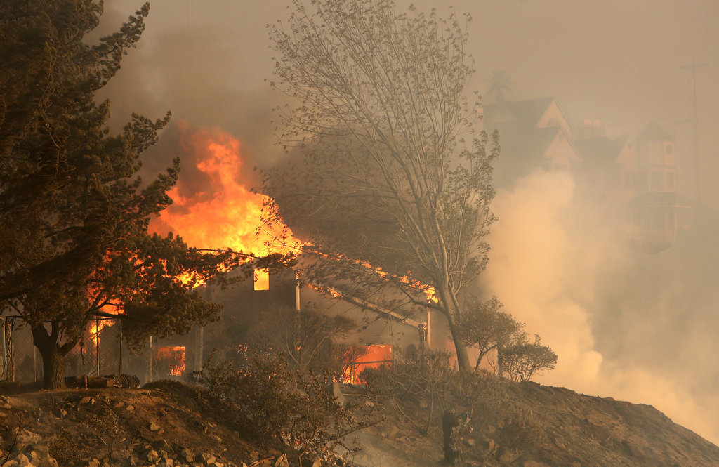 Unbelievable Photos Capture the Southern California Wildfires