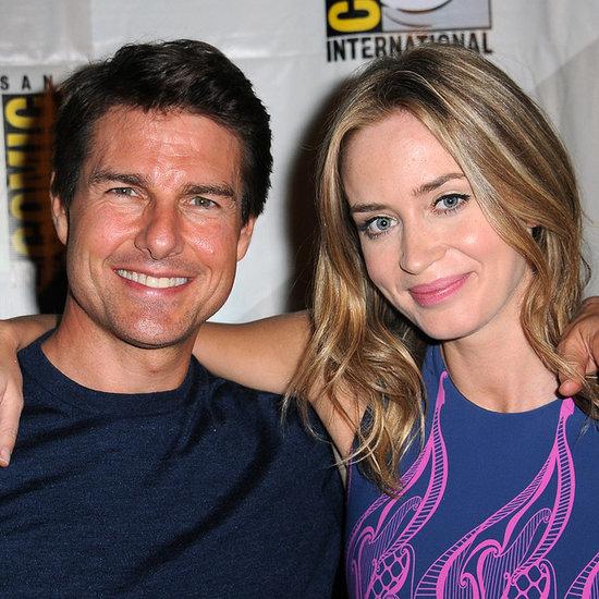 Emily Blunt Made Tom Cruise Break Down