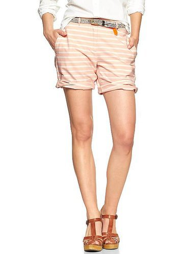 Gap Boyfriend Roll-Up Shorts