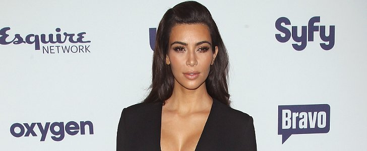 Does Kim Kardashian's Sexy Slit Reveal Too Much?