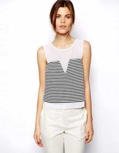 ASOS Shell Top