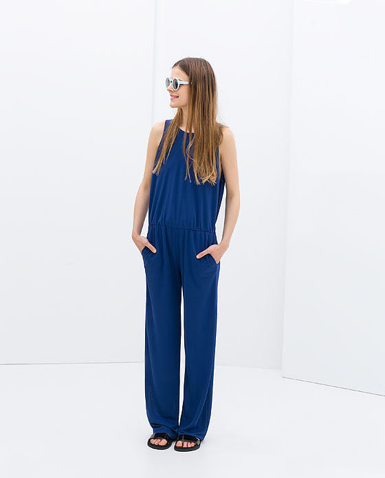 Zara Open Back Jumpsuit