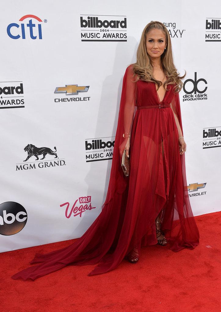 Jennifer Lopez in Donna Karan at the 2014 Billboard Music Awards