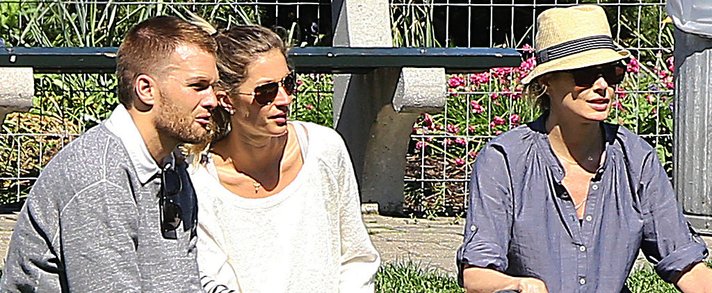 Gisele Bündchen and Tom Brady Get Friendly With Tom's Ex