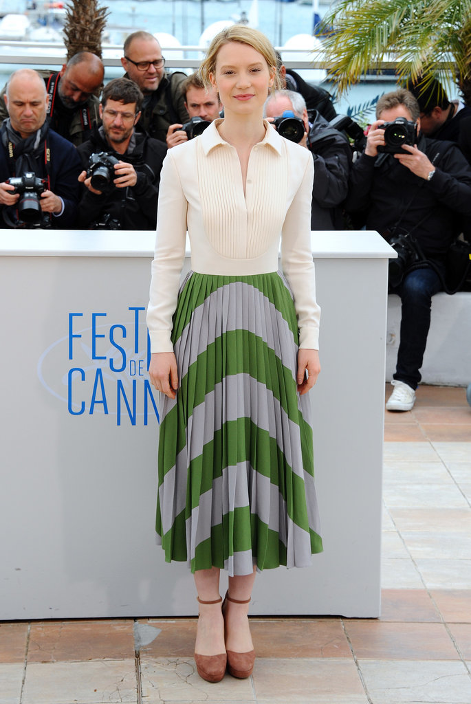 Mia Wasikowska at the Maps to the Stars Photocall