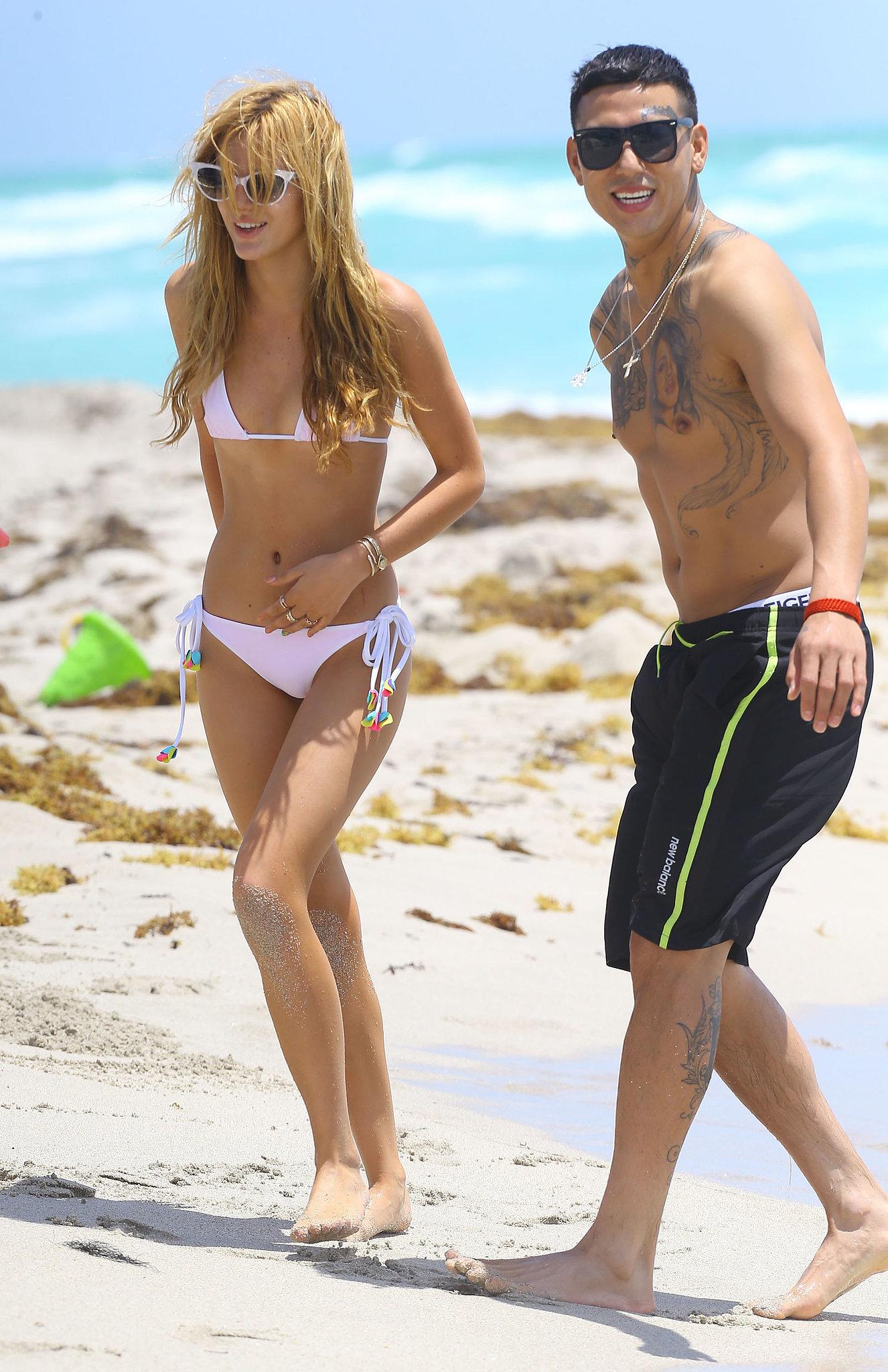 Bikini-Clad Bella Thorne Makes a Splash in Miami
