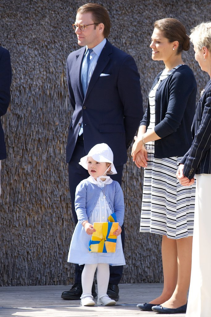 Princess Estelle of Sweden's First Royal Appearance Couldn't Have Been Cuter