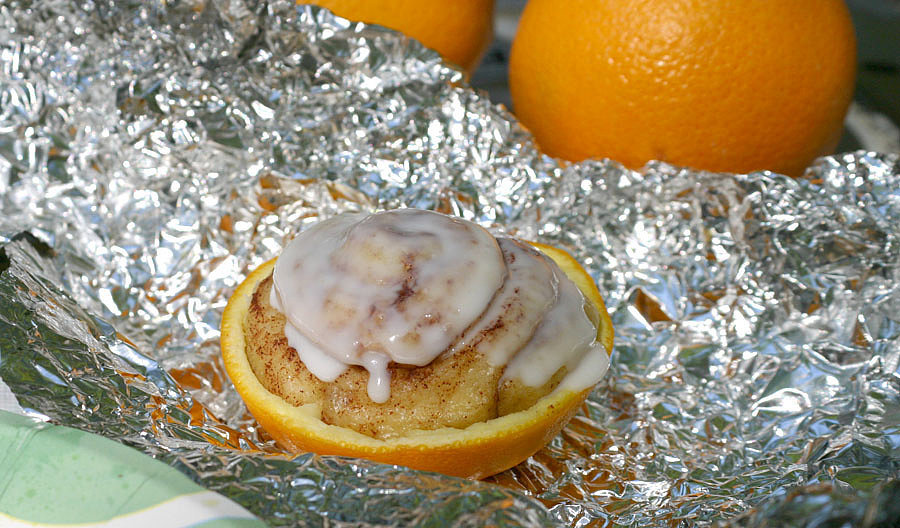 Orange-Peel Cinnamon Rolls