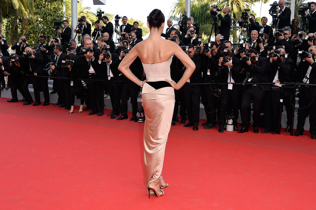 Adriana Lima took the red carpet by storm at the premiere of The Homesman.