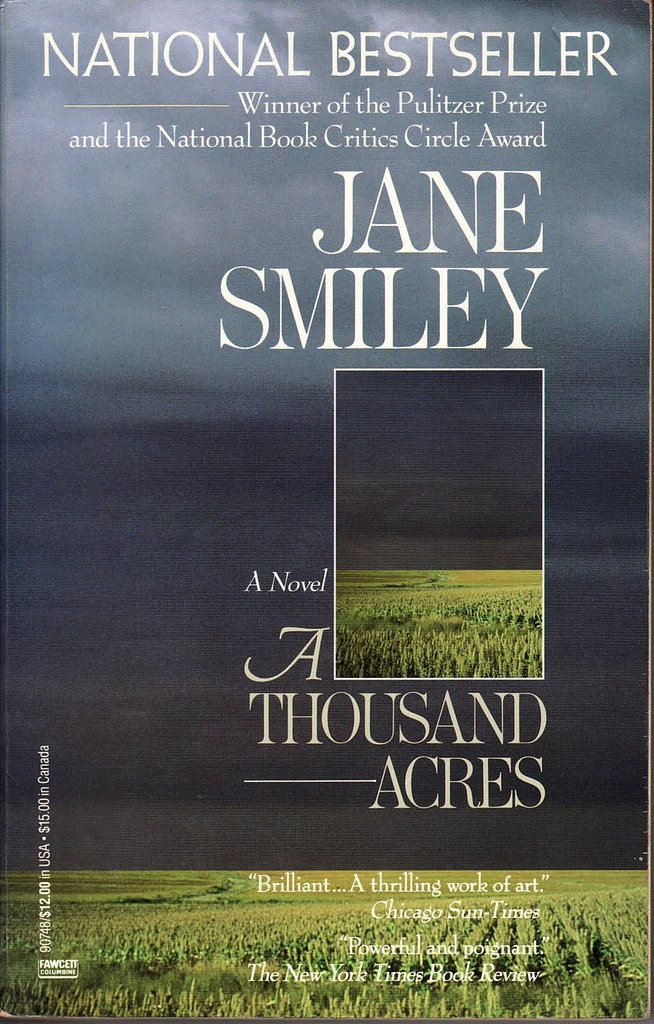Iowa: A Thousand Acres by Jane Smiley