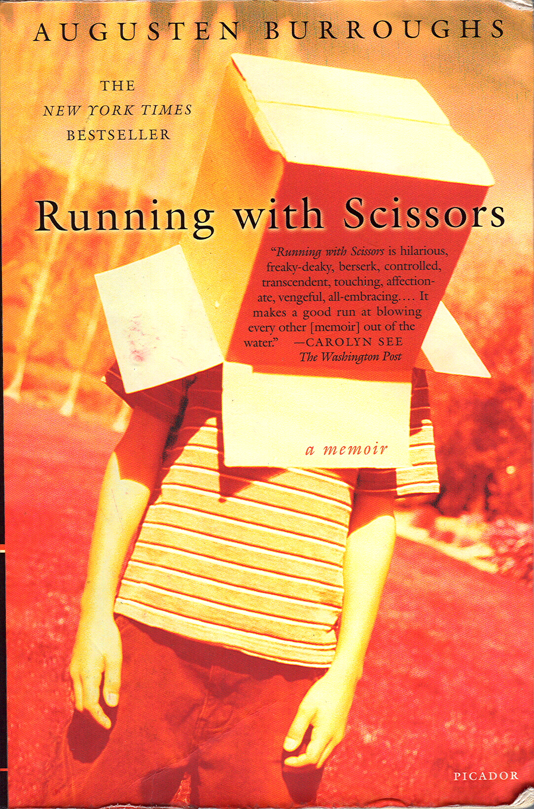 Massachussetts: Running With Scissors by Augusten Burroughs
