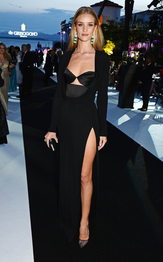 Rosie Huntington-Whiteley at the Fatale in Cannes Party