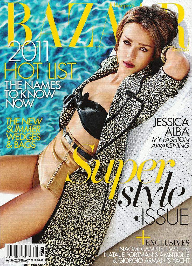 Harper's Bazaar Australia, January 2011