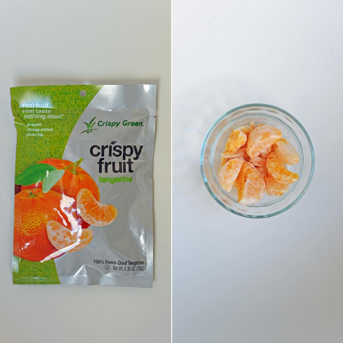 Crispy Green Tangerine Crispy Fruit