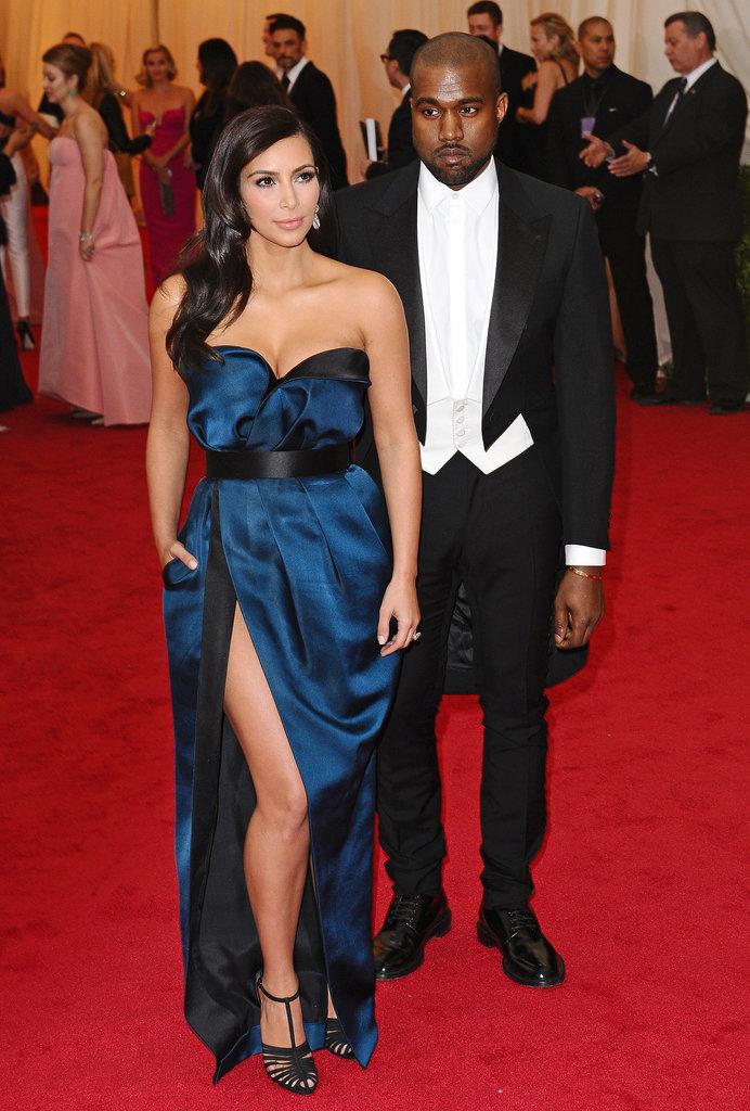 Kim Kardashian at the 2014 Met Gala