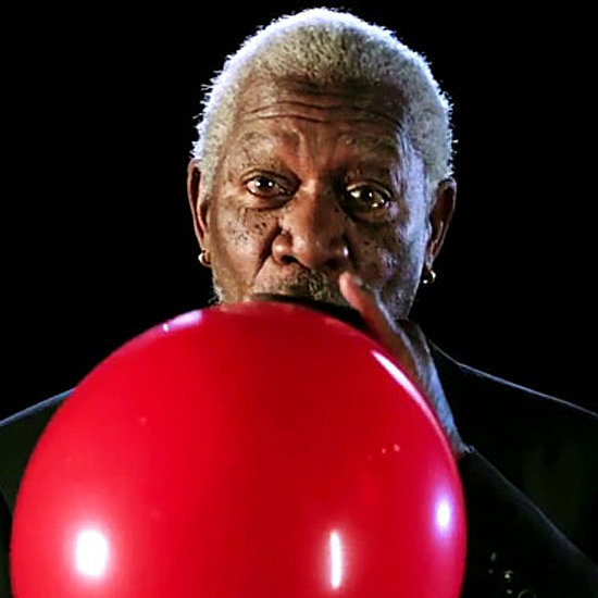 Video Of Morgan Freeman's Voice On Helium Balloon