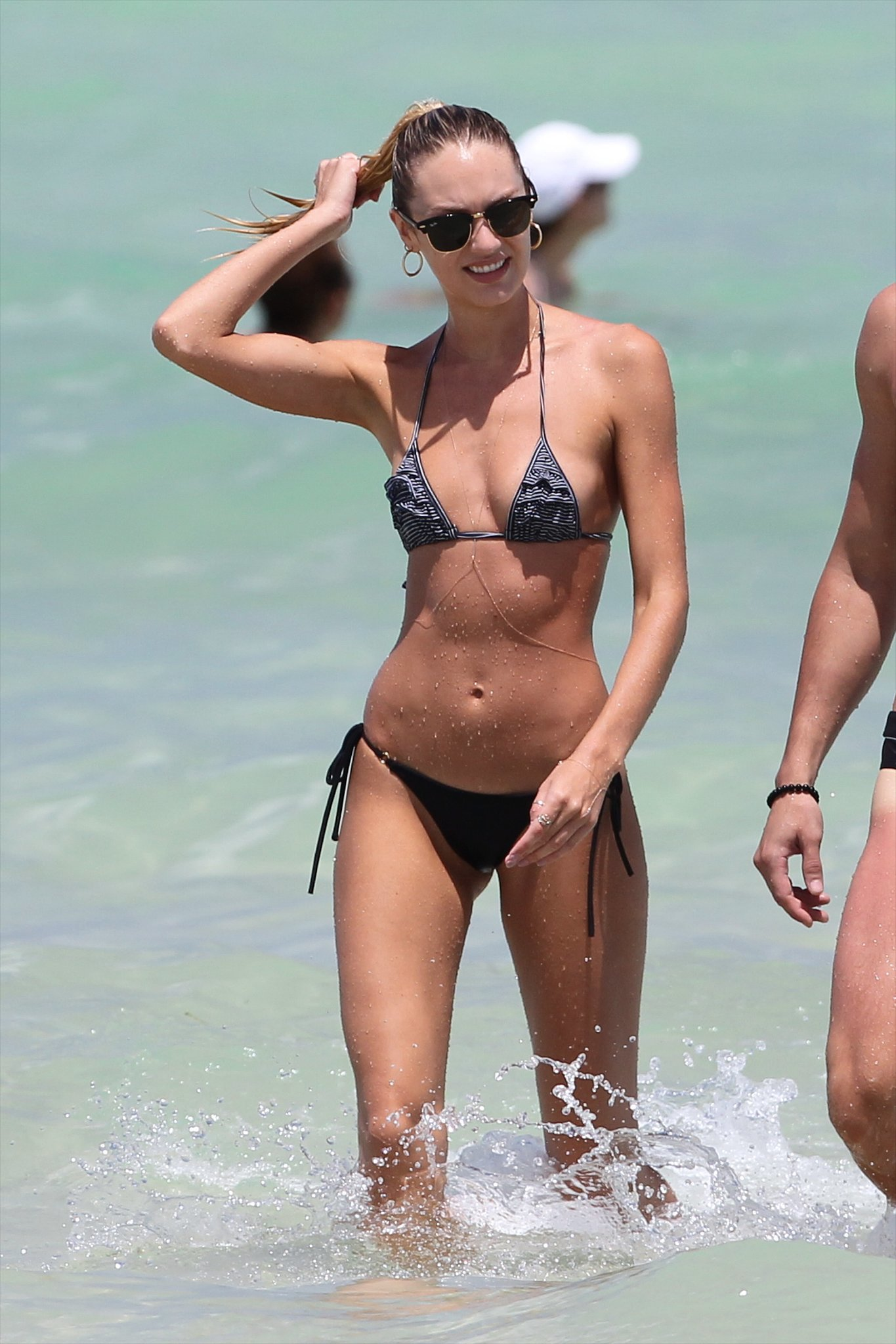 She Makes Getting Out of the Ocean Look Hot