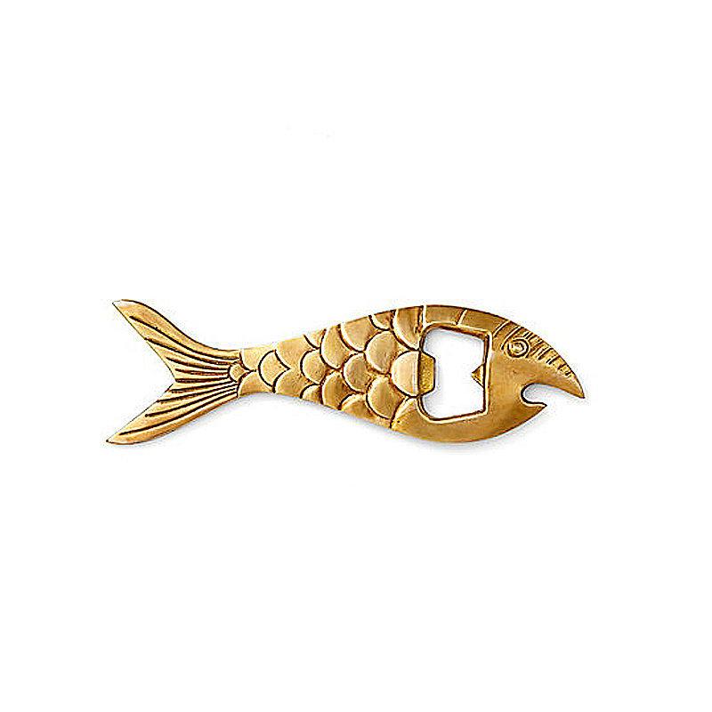 A fish bottle opener ($18) will make your bar cart Summer ready.