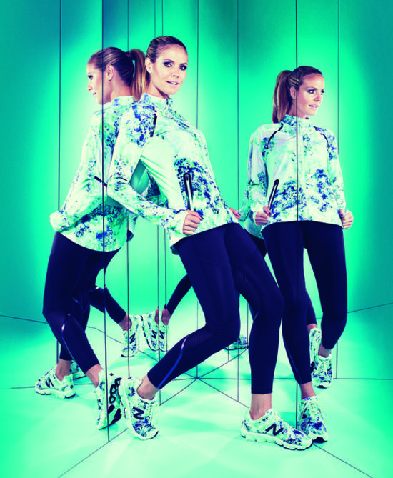 Heidi Klum For New Balance Workout Wear