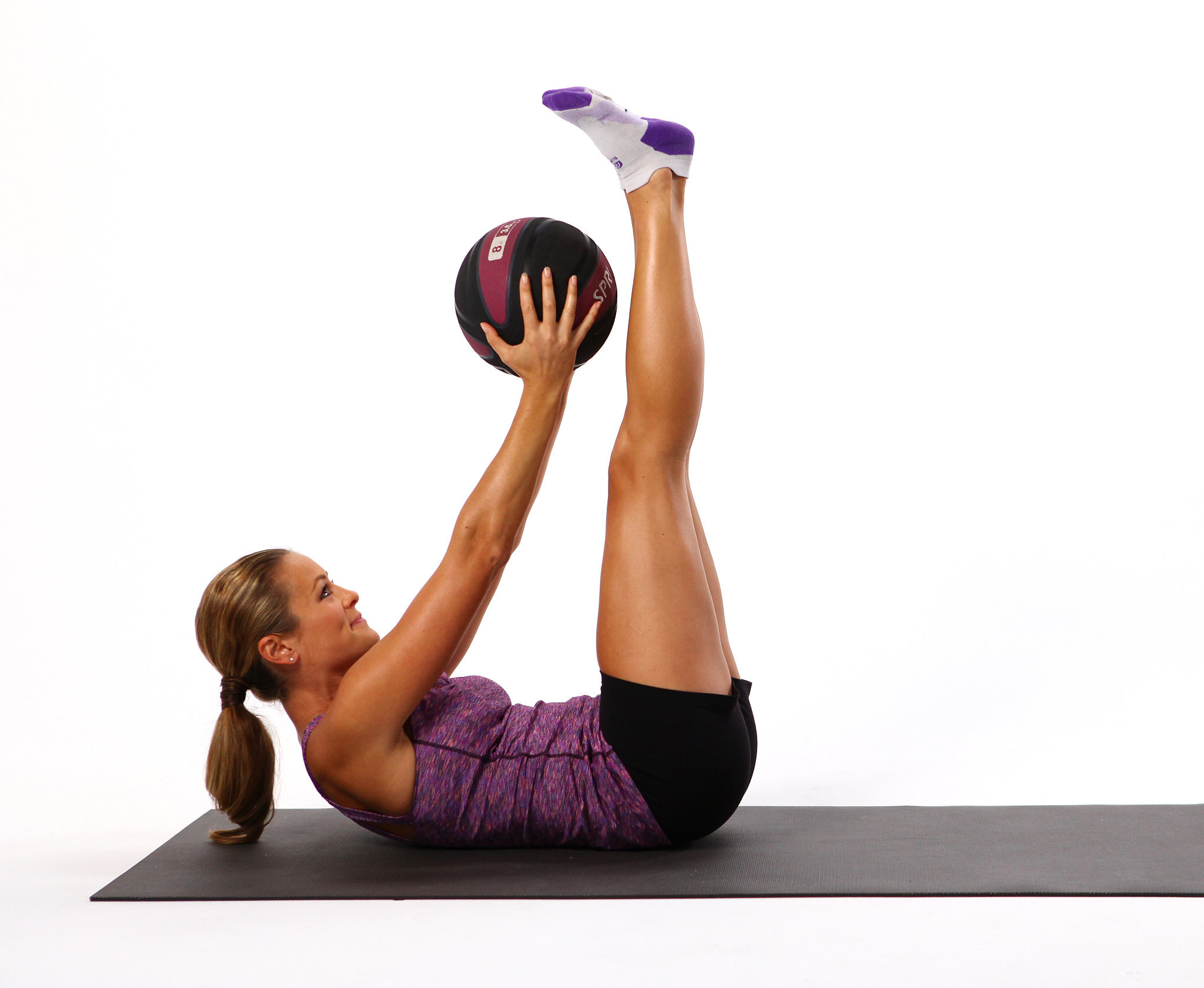 Double Crunch Pulse With Medicine Ball